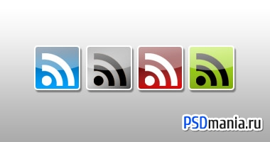 Иконки RSS-ленты/Clean and Glossy Rss