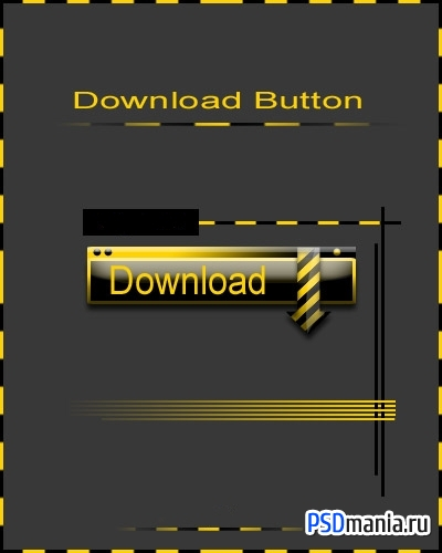 Кнопка загрузки/Yellow Download Button